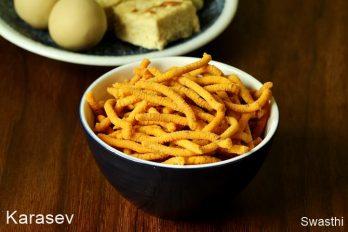 Karasev recipe   Besan sev recipe   Diwali snacks recipes