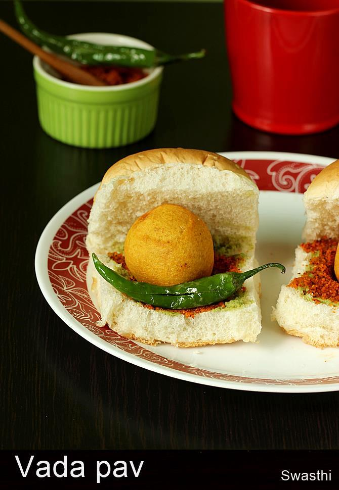 Vada pav recipe how to make vada pav indian street food recipes forumfinder Images