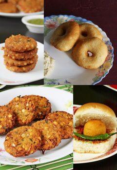 Vada recipes    10 best vada varieties   Indian vada recipes