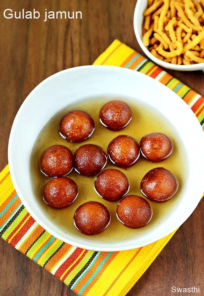 gulab jamun Indian recipes