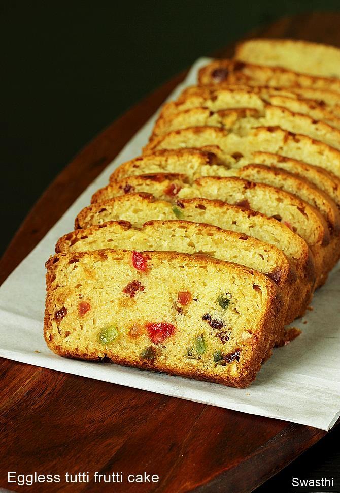 eggless tutti frutti cake recipe how to make tutti frutti cake