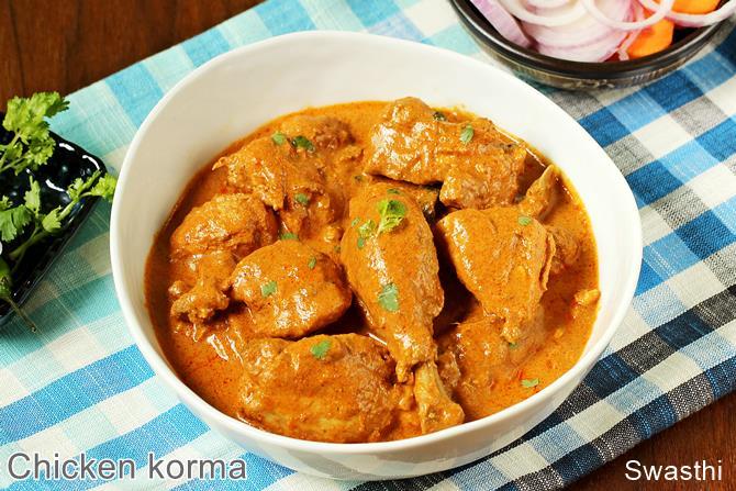Bbc food recipes chicken korma chicken korma recipe bbc good foodthe coconut fish curry traybake bbc good food middle east forumfinder Choice Image
