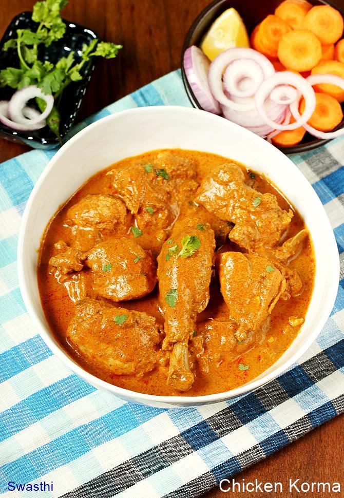 Chicken korma recipe how to make chicken korma recipe forumfinder Choice Image