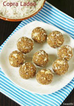 Copra laddu recipe | Endu kobbari laddu | Dried coconut jaggery ladoo