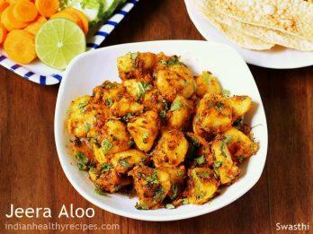 Jeera aloo recipe   How to make jeera aloo fry