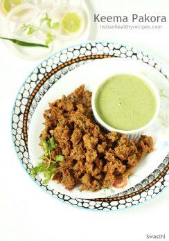 Mutton keema pakora recipe | How to make keema pakoda