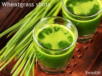 wheatgrass shot